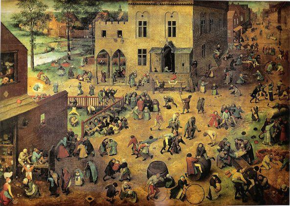 Brueghel - juegos de niños (1560)