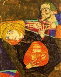 Egon Schiele - sagrada familia (1913)
