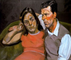 Lucien Freud - Michael Andrews and June (1966)