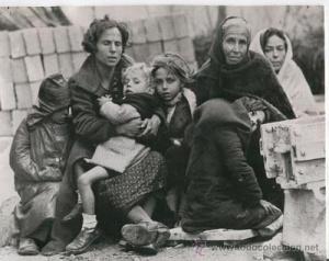 REFUGIADOS CATALANES EN LE PERTHUS_12 febrero 1939