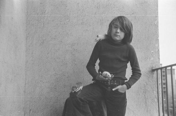 1975 Javier con los ratones