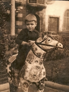 1960 Jorge y su caballo