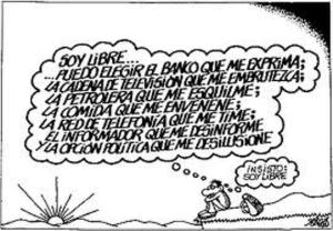 chiste Forges libertad