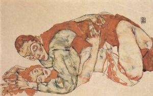 Egon Schiele - Coitus (1915) (02)
