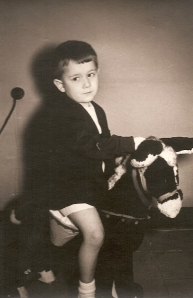 1965 Javier en el burro