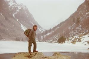 1980 Javier en la montaña