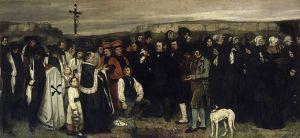 Coubert - entierro en Ornans (1849)