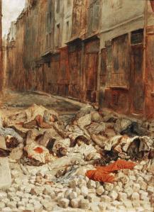 Meissoner - la barricada (1848)