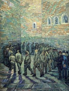 Van Gogh - la ronda de los presos (1890)
