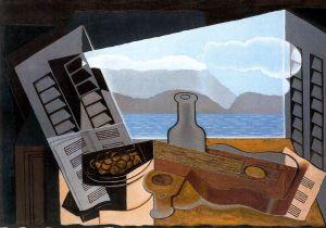 Juan Gris - la ventana abierta (1921)