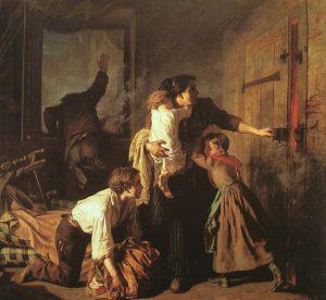 Alexandre Antigna - El Fuego (1850)