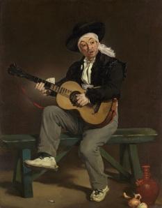 Manet - El cantante español (1860)
