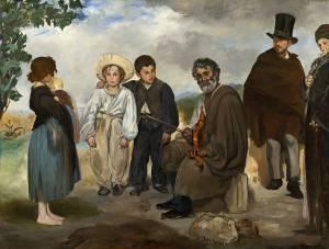Manet - el viejo tañedor (1862)