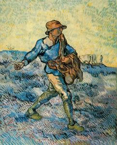 Van Gogh - el sembrador (1889)