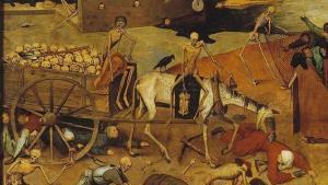 Brueghel - El triunfo de la muerte (1562) detalle 01