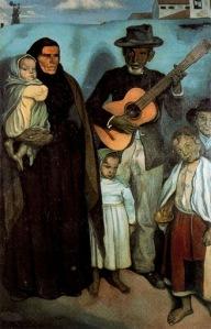 Emile Bernard - Músicos callejeros españoles (1897)