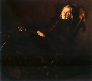 Konrad Krzyżanowski -  Portrait of Pelagia Witosławska (1912)