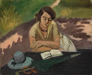 Matisse - mujer leyendo (1921)