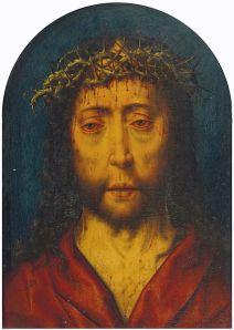 Albert Bouts - Christus Schmerzensmannm (1549)