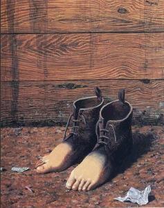 René Magritte - La condición Humana