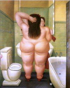 Botero - el baño (1989)