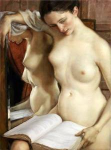 John Currin - The Reader