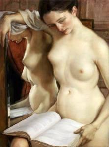 John Currin - The Reader