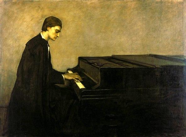 Romaine Brooks - Renata Borgatti al piano