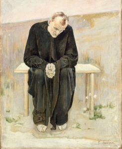Hodler - The Disillusioned One (1892)