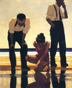 Jack Vettriano - Narcissistic Bathers