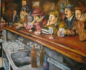 Betina Paola - en el bar