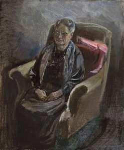 Jan Sluyters -  A portrait of the artist's mother