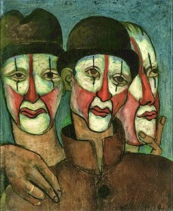 Picabia - Trois Mimes (1936)