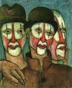 Picabia - Trois Mimes (1936)