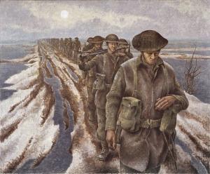 David Alexander Colville - Infantry en Nijmegen