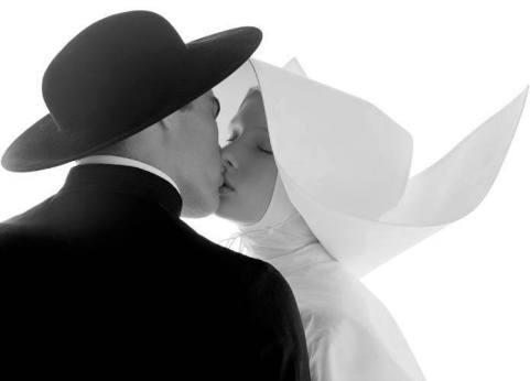 beso religioso