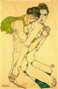 Egon Schiele - Amistad (1913)