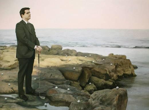 Edgar Noe Mendoza - golfista con chaqueta (2010)