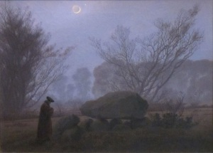 Friedrich - A Walk at Dusk