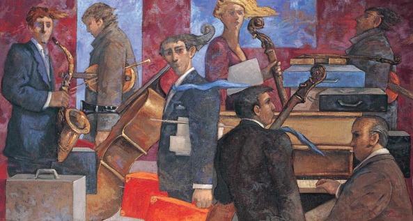 Giampaolo TALANI - Partenza dei musicisti