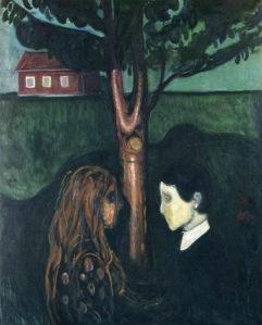 Munch - Eye in Eye (1894)
