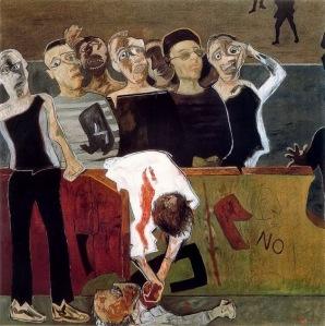 Juan Barjola - Fusilamiento