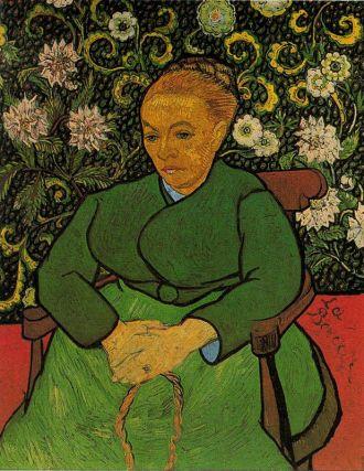 Van Gogh - la mecedora (1889)