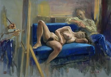 Dario Ortiz - el sofa azul