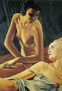 Francis Picabia - La Morena y la rubia