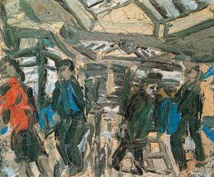 kossof - taquillas del metro (1976)