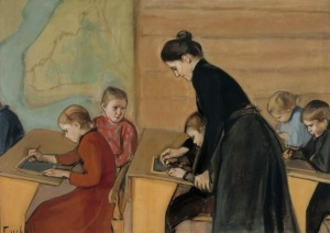 Magnus Enckell - Elementary School (1899)