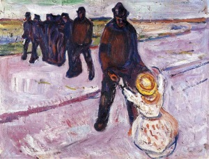 Munch - Worker and Child (1908)