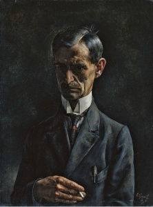 Albert Heinrich - Retrato del pintor (1926)