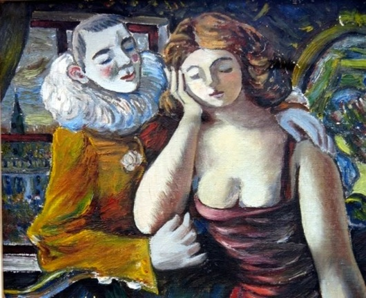 Rafael Zabaleta - Pareja de cómicos (1943)